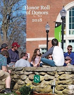 Honor Roll of Donors 2018
